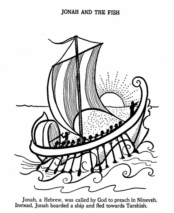 jonah coloring jonah and the whale bible story coloring pages coloring home jonah coloring