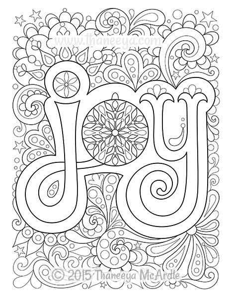 joy coloring pages christmas joy coloring page by thaneeya mcardle joy coloring pages