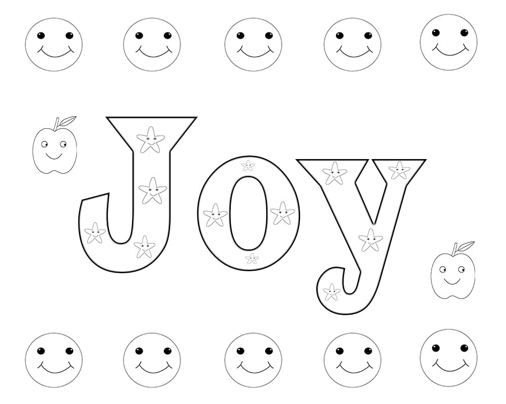 joy coloring pages joy comes in the morning coloring page in two sizes 85x11 joy coloring pages