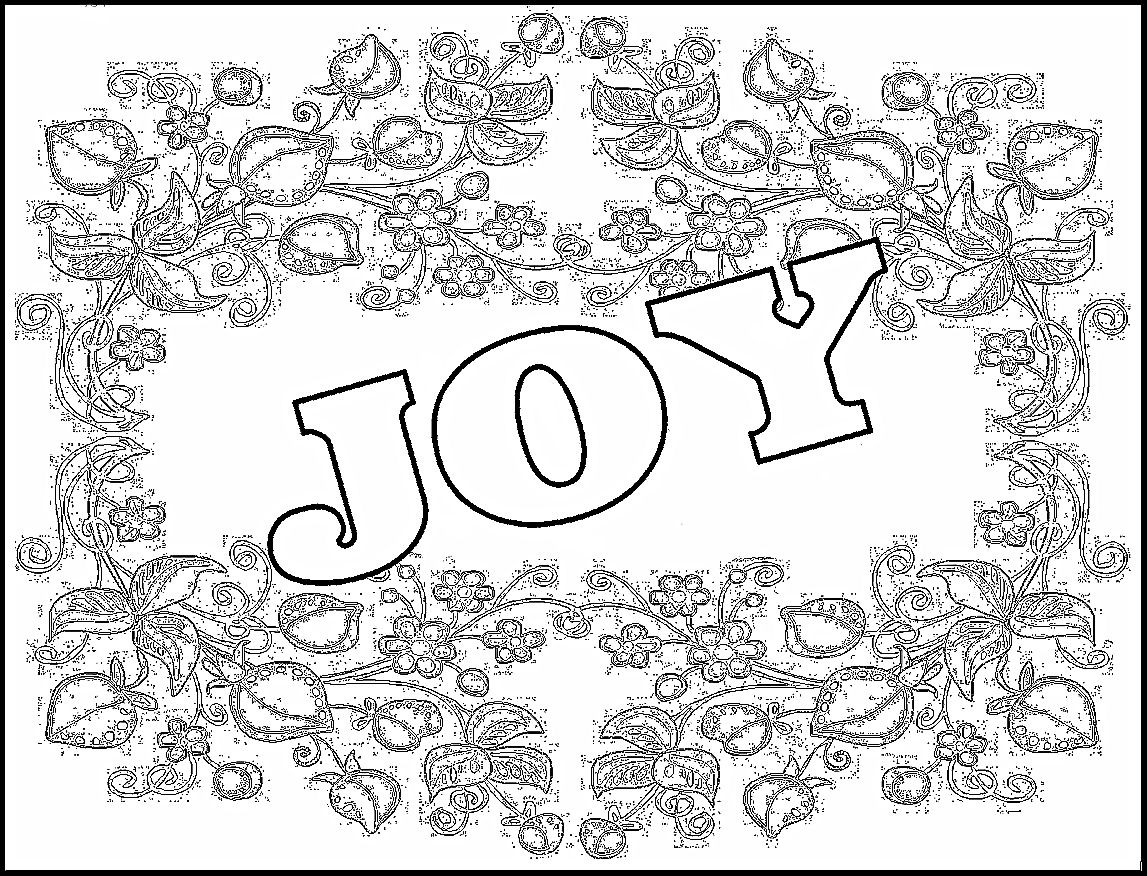 joy coloring pages today i choose joy free printable coloring page pages coloring joy