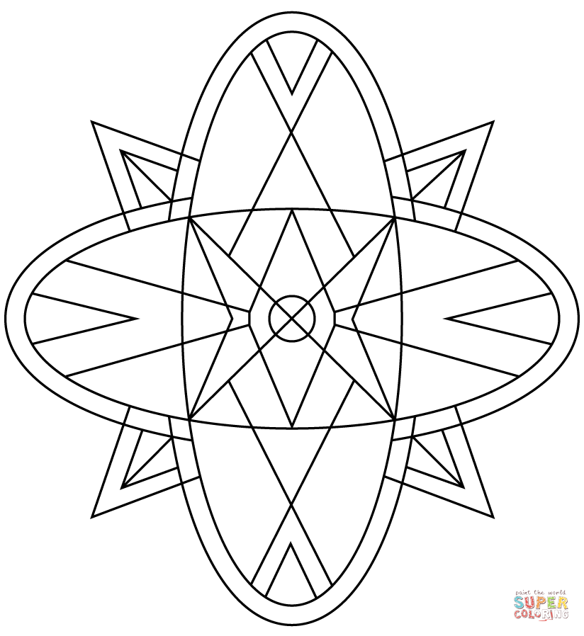 kaleidoscope coloring pages kaleidoscope coloring page free printable coloring pages pages kaleidoscope coloring