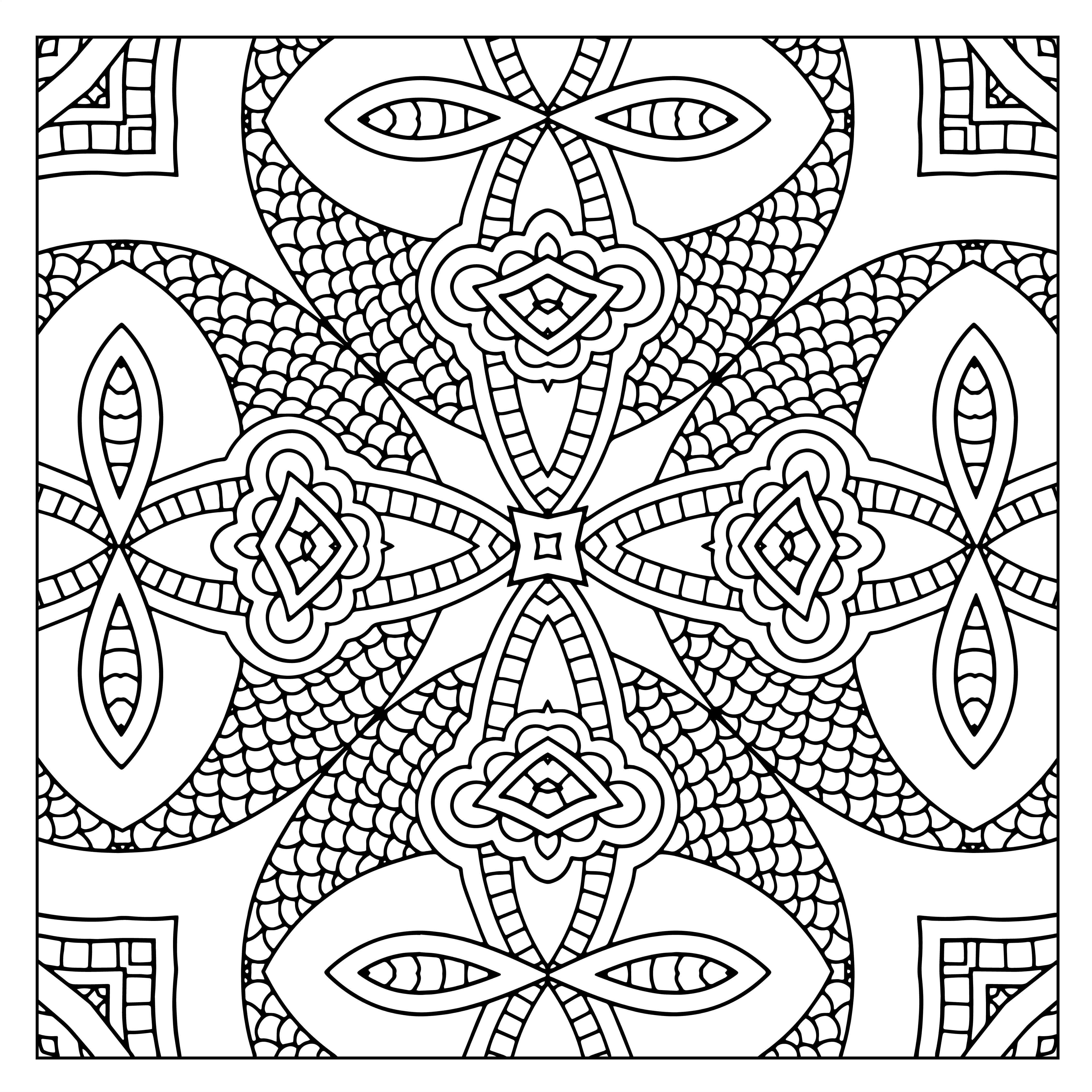 kaleidoscope coloring pages kaleidoscope coloring pages for adults coloring home coloring kaleidoscope pages