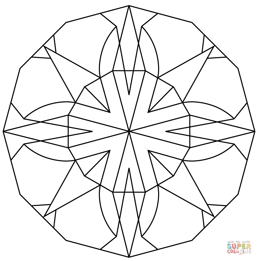kaleidoscope coloring pages kaleidoscope coloring pages for adults coloring home pages kaleidoscope coloring