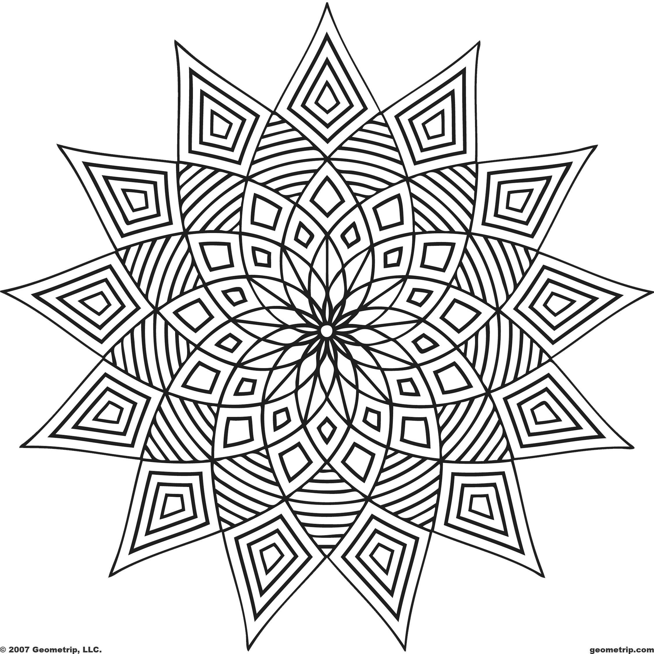 kaleidoscope coloring pages printable kaleidoscope coloring pages for adults at pages coloring kaleidoscope
