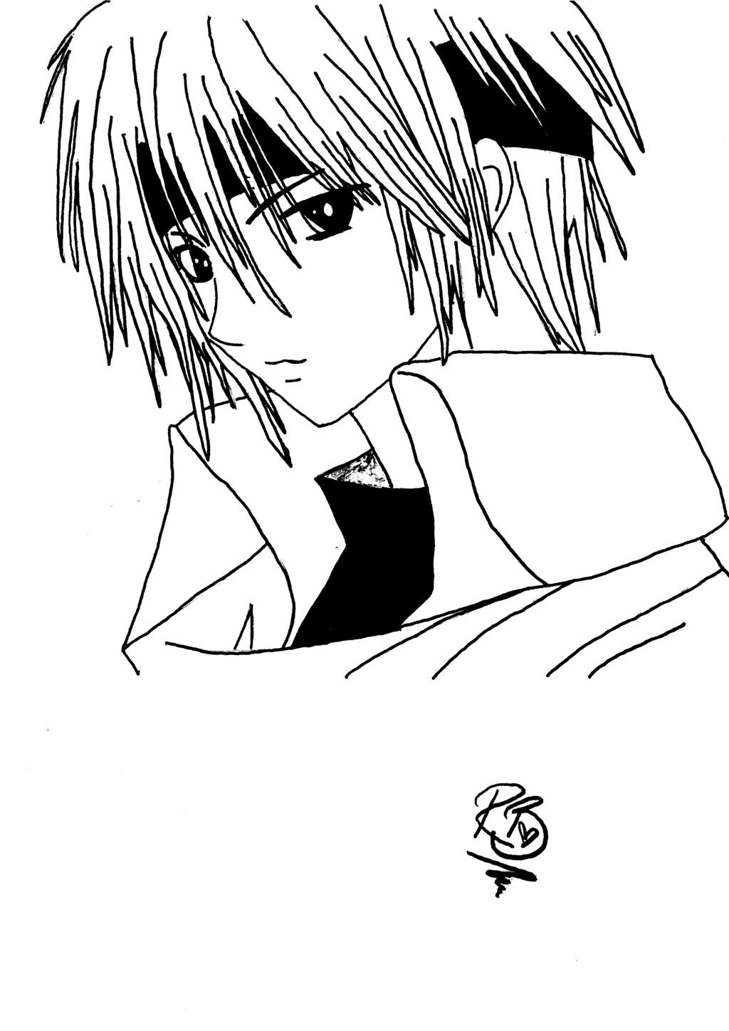 kawaii anime boy coloring pages anime boy drawing at getdrawings free download boy kawaii pages anime coloring