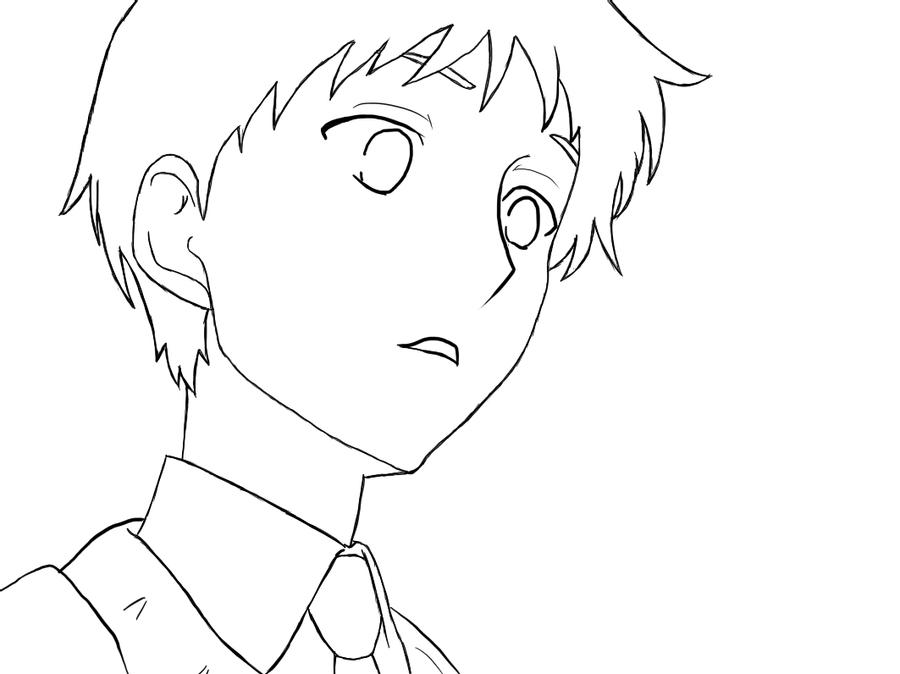 kawaii anime boy coloring pages cute boy lineart by kasumimanga on deviantart boy kawaii coloring anime pages