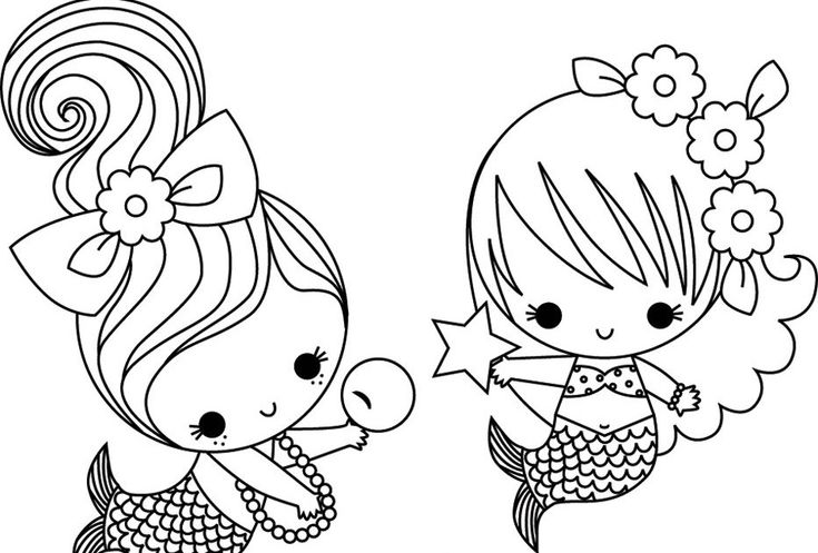 kawaii mermaid coloring pages pin by maud van der horst on kleuren mermaid coloring mermaid kawaii coloring pages