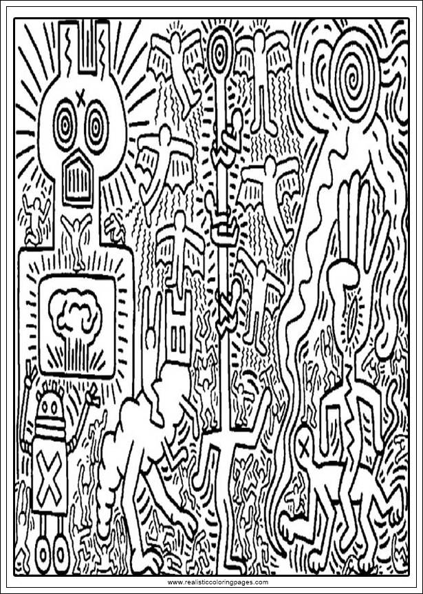 keith haring coloring pages coloring pages for adults keith haring printable free coloring haring keith pages