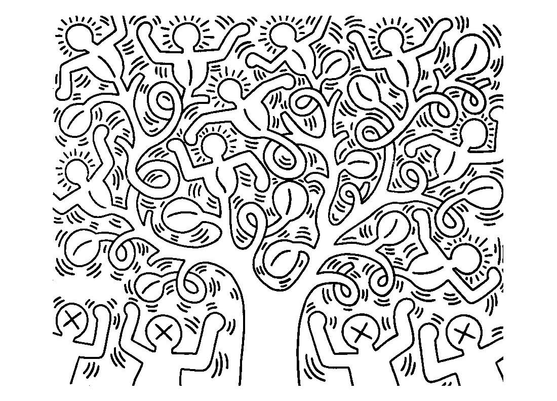 keith haring coloring pages keith haring 5 pop art coloring pages for adults just coloring haring pages keith