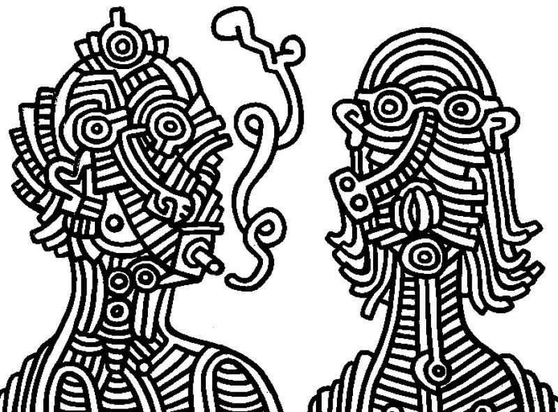 keith haring coloring pages keith haring free to color for children keith haring pages keith coloring haring