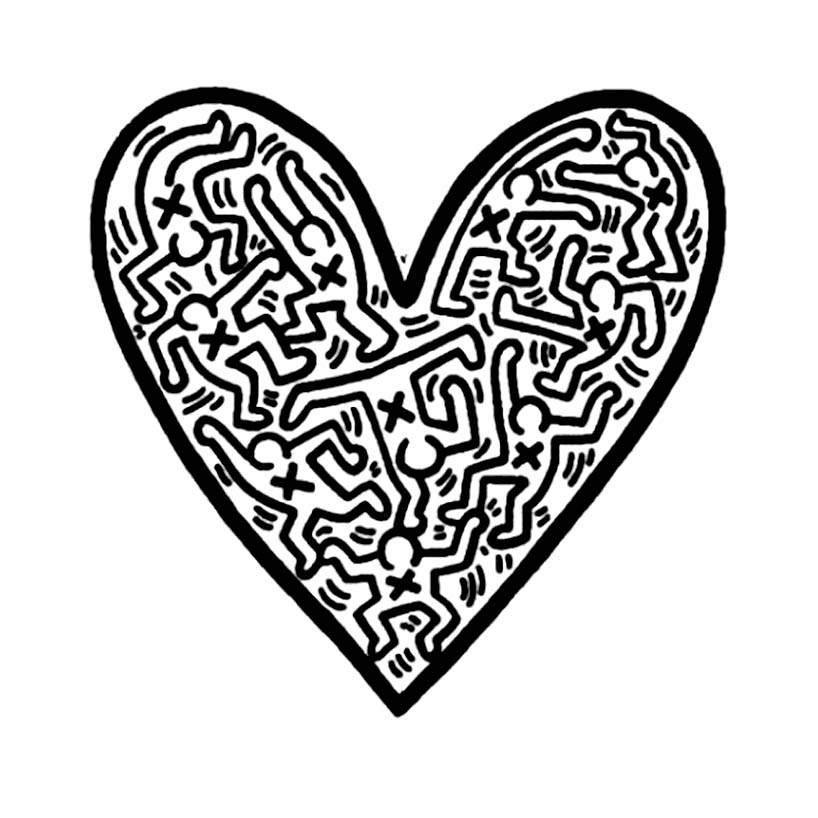 keith haring coloring pages smoker keith haring keith haring art haring art pages coloring haring keith