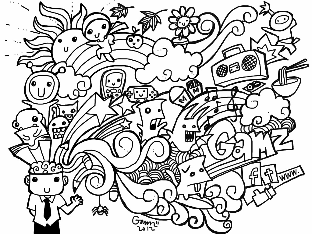 kids art coloring pages doodle art free to color for kids doodle art kids pages kids art coloring