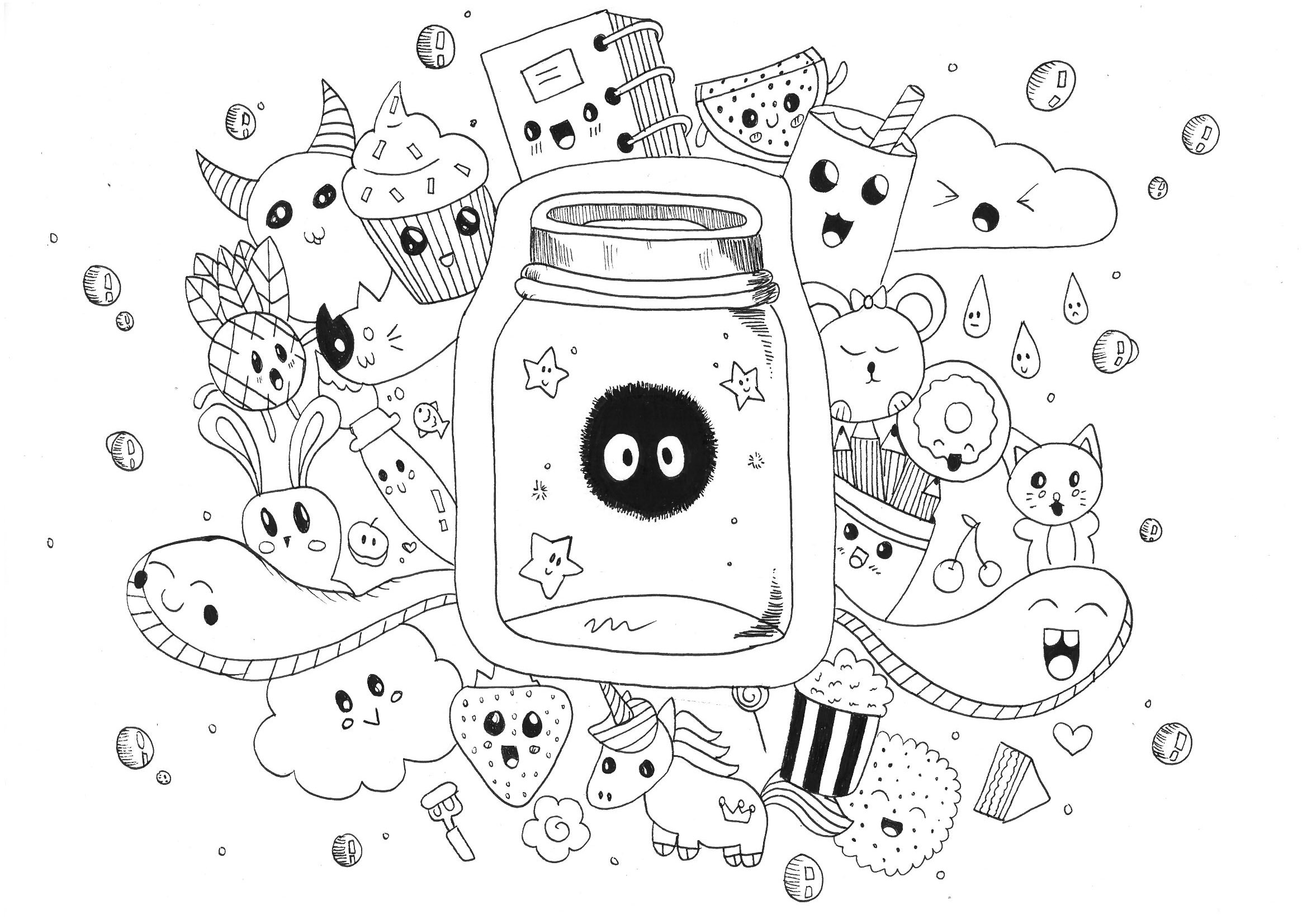 kids art coloring pages doodle art to print doodle art kids coloring pages coloring art kids pages