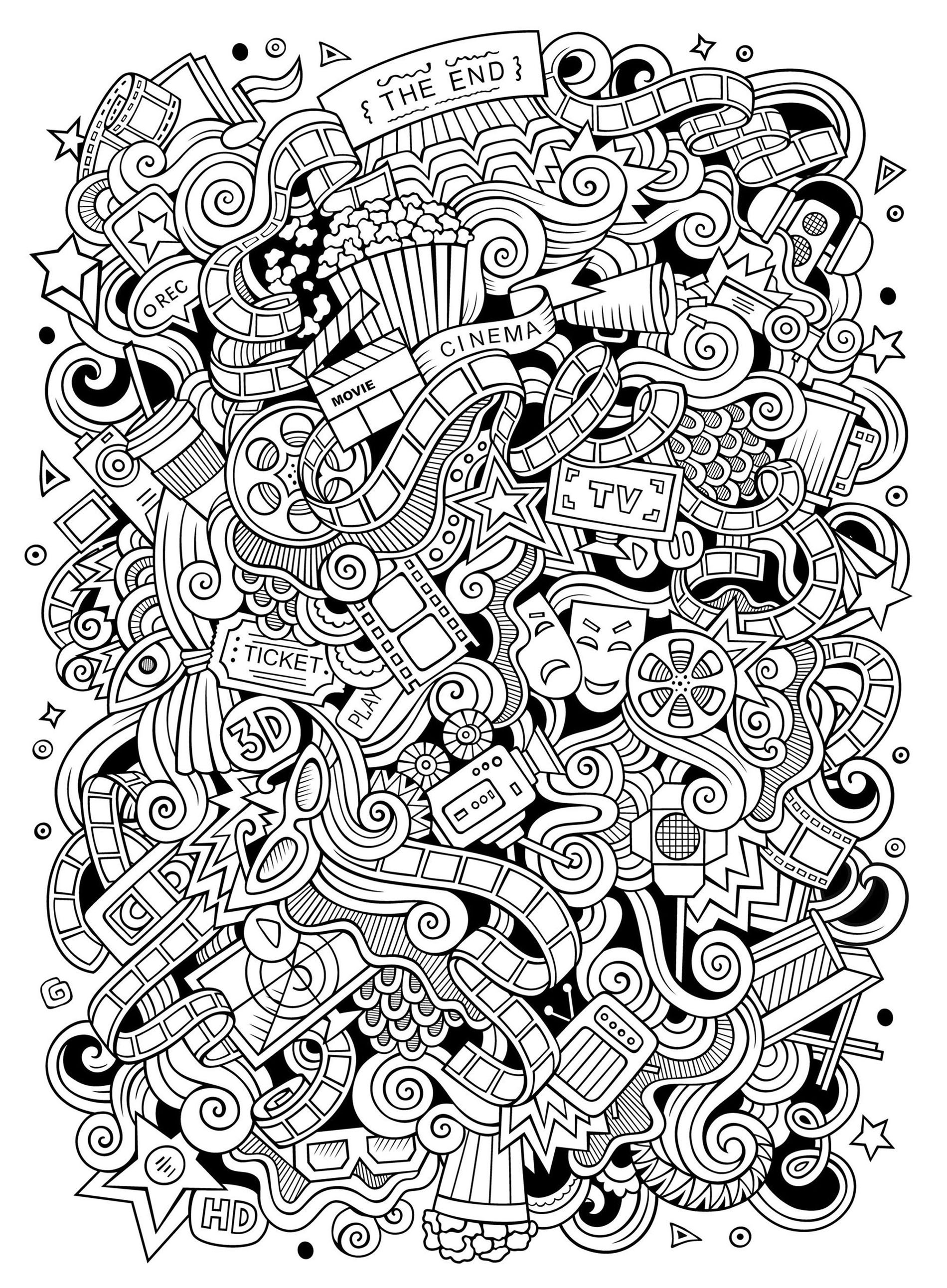 kids art coloring pages doodle art to print for free doodle art kids coloring pages pages kids art coloring