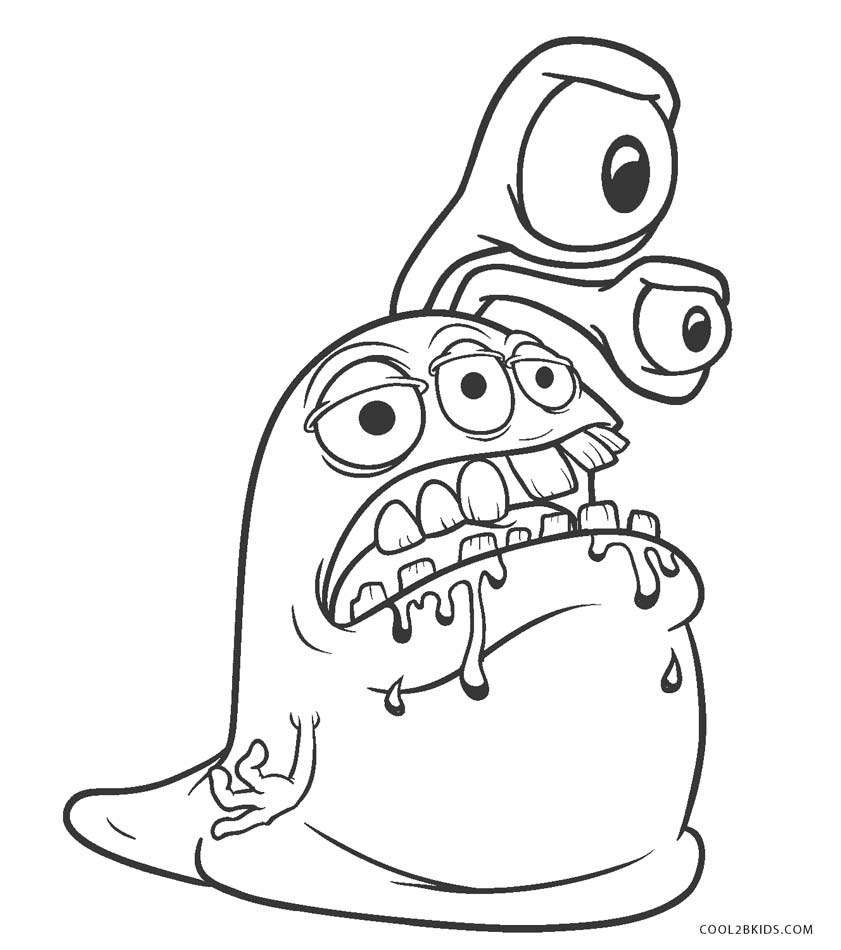 kids monster coloring pages free printable monster coloring pages for kids monster coloring pages kids