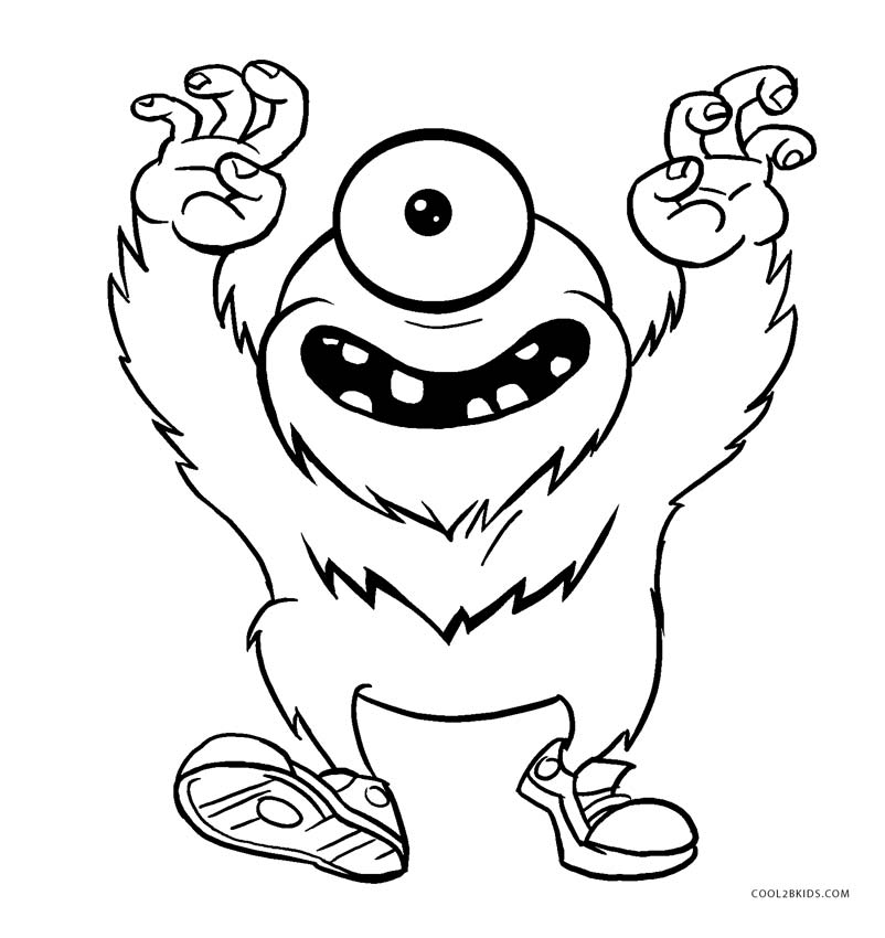 kids monster coloring pages monster coloring pages to download and print for free coloring kids monster pages