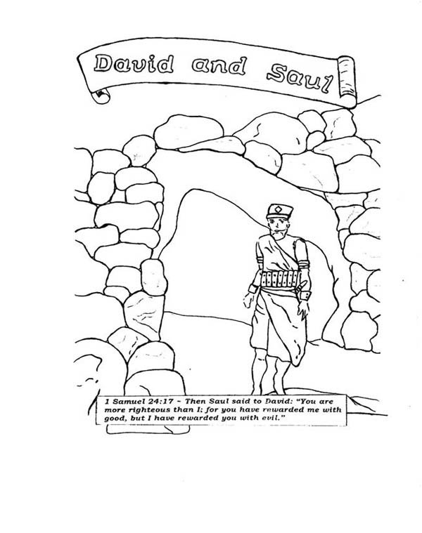 king saul coloring page david and saul in the story of king saul coloring page saul coloring king page