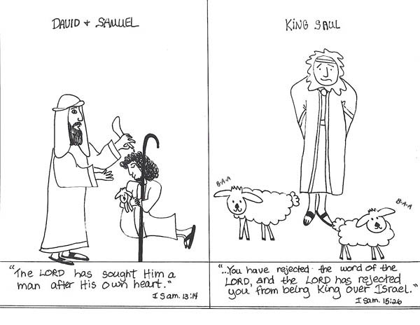 king saul coloring page king saul rejected the word of the lord god coloring page coloring king saul page