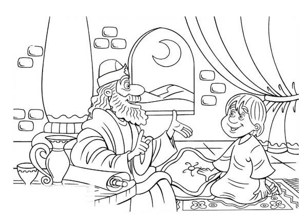 king saul coloring page samuel and little saul in the story of king saul coloring saul page king coloring