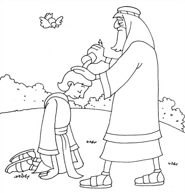 king saul coloring page samuel anointing david in the story of king saul coloring saul coloring page king