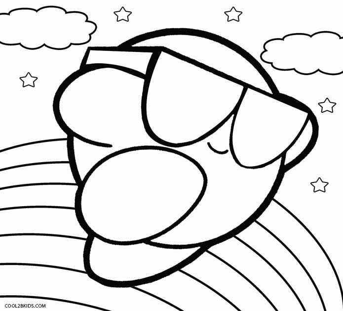 kirby for coloring collection of kirby coloring pages for kids centenario coloring for kirby