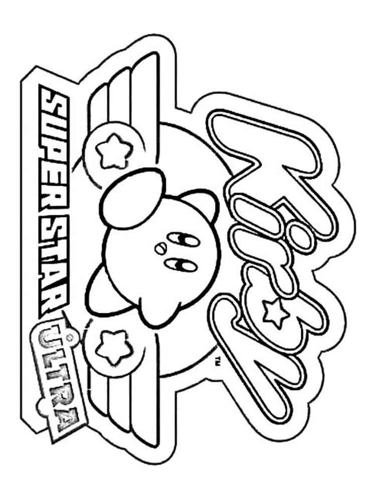 kirby for coloring kirby coloring pages coloring kirby for