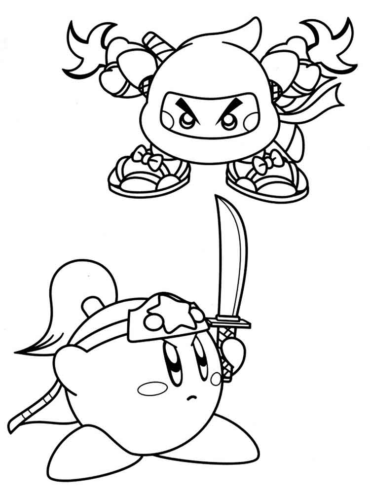 kirby for coloring kirby coloring pages free printable kirby coloring pages coloring kirby for