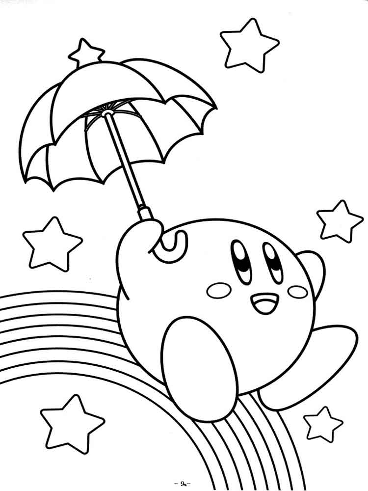 kirby for coloring kirby coloring pages free printable kirby coloring pages for coloring kirby 1 1