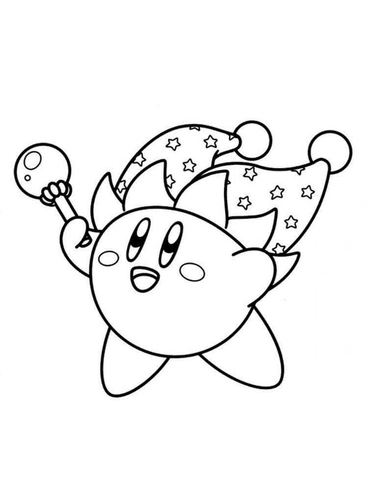 kirby for coloring kirby coloring pages free printable kirby coloring pages kirby for coloring