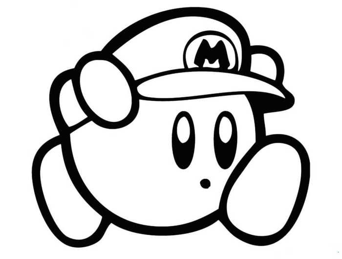 kirby for coloring nintendo coloring pages for kids coloring home kirby for coloring