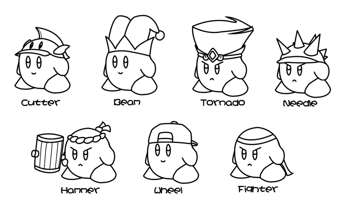 kirby for coloring printable kirby coloring pages for kids cool2bkids for coloring kirby
