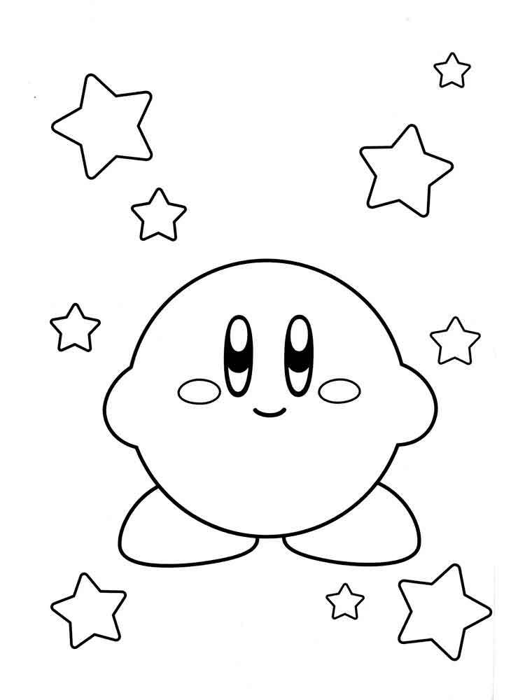 kirby for coloring snorkle kirby coloring pages kids play color kirby for coloring