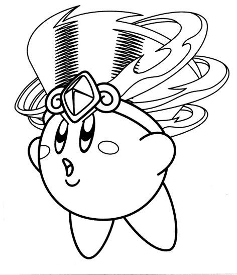 kirby star allies coloring pages kirby with headdress coloring page coloring pages kirby coloring kirby star allies pages