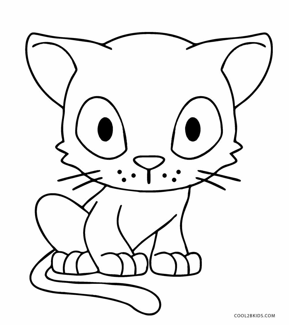kitten color page free cat coloring page grade onederful kitten page color