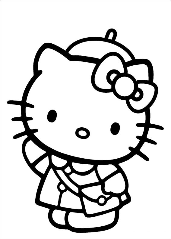 kitty pictures to color 27 hello kitty coloring pages printable pdf print color color pictures kitty to