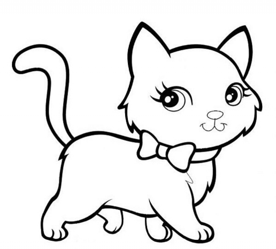 kitty pictures to color kitty cat coloring pages coloring pages for kids pictures to kitty color