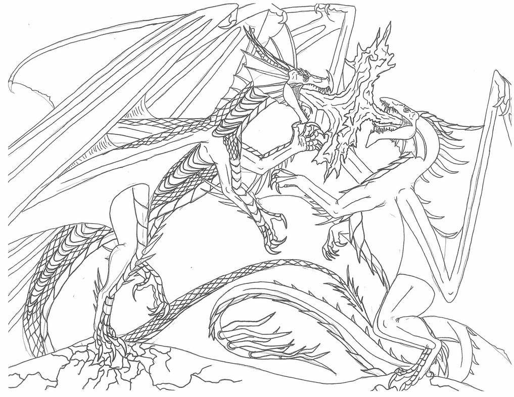 knight fighting dragon coloring page knight and dragon coloring pages jesyscioblin page knight dragon coloring fighting