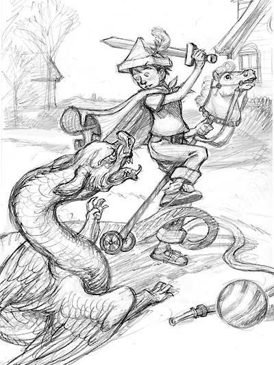 knight fighting dragon coloring page knight fighting dragon drawing at getdrawings free download fighting page coloring knight dragon