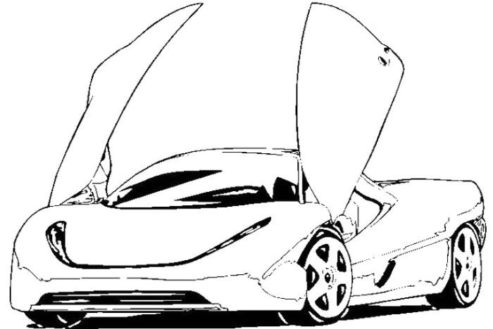 koenigsegg coloring pages koenigsegg ccx1 coloring page dessin voiture dessin a coloring koenigsegg pages