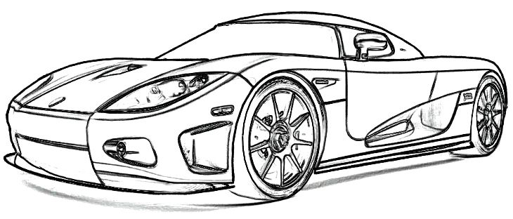 koenigsegg coloring pages koenigsegg drawing at getdrawings free download pages coloring koenigsegg