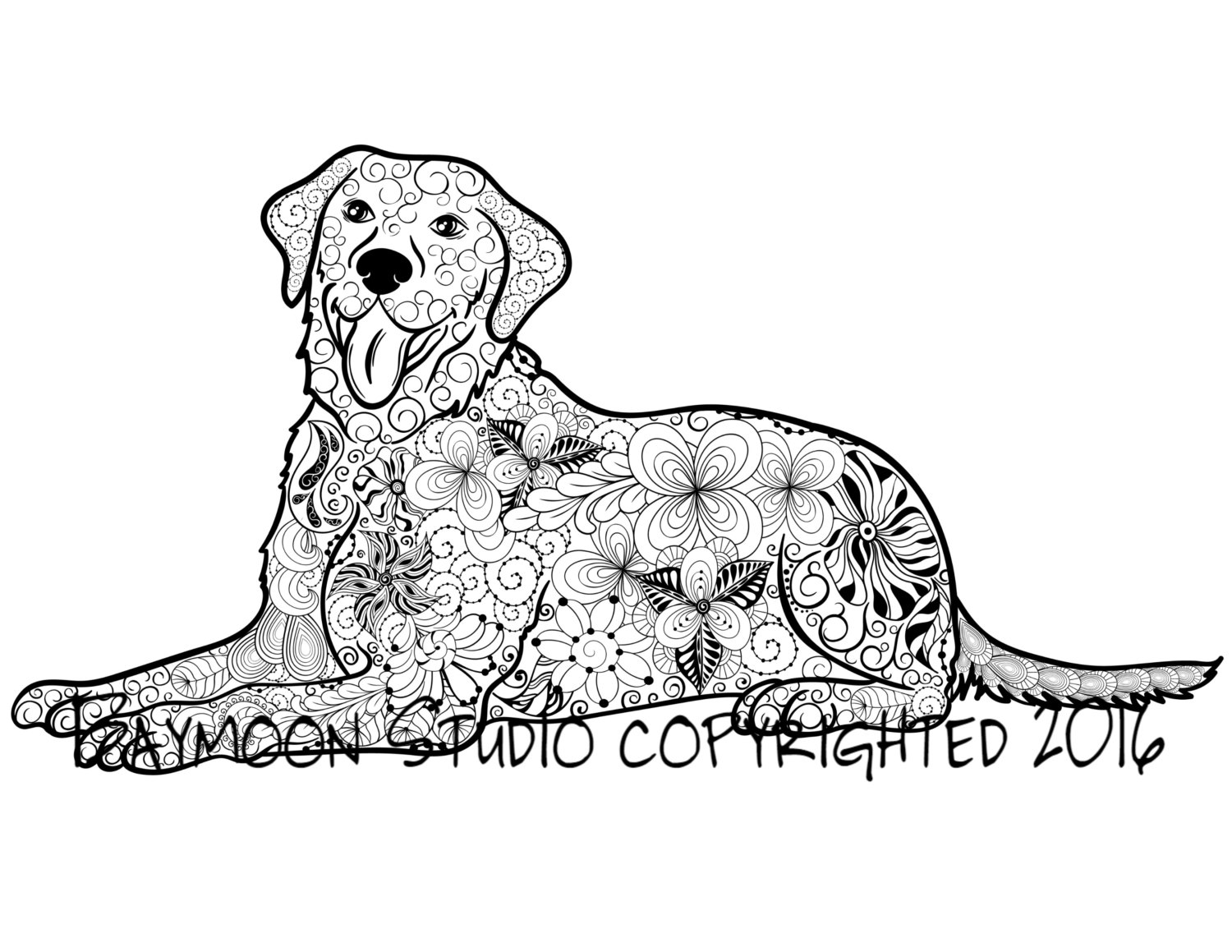 labrador colouring pages lab drawing at getdrawings free download labrador pages colouring