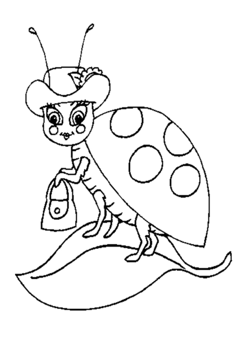 lady bug coloring pages free printable ladybug coloring pages for kids animal place bug pages lady coloring