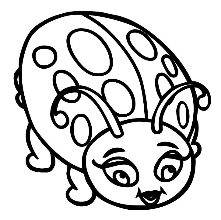 lady bug coloring pages ladybug free colouring pages coloring bug lady pages