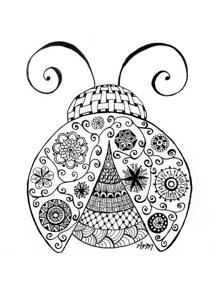ladybug coloring book free ladybug coloring pages for adults printable to book ladybug coloring