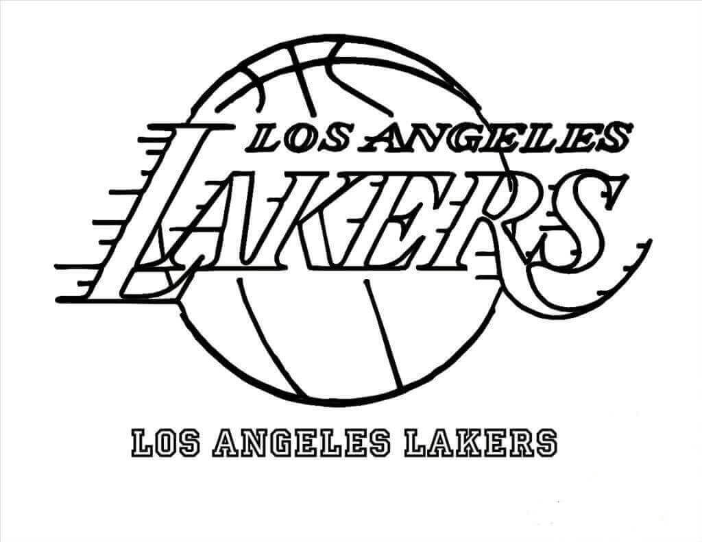 Lakers coloring pages