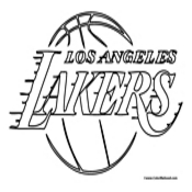 lakers coloring pages lakers coloring pages at getcoloringscom free printable coloring pages lakers