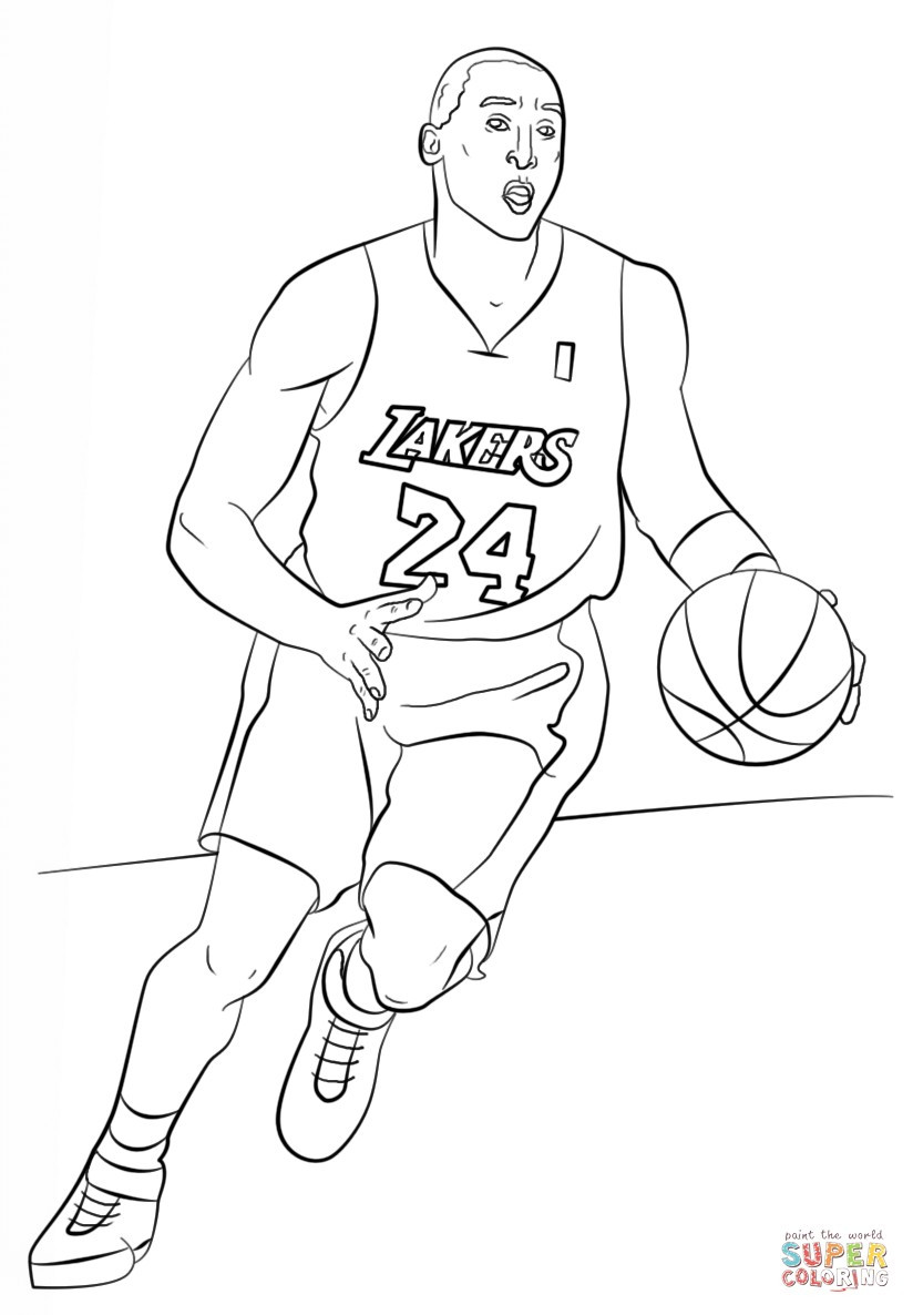 lakers coloring pages lakers coloring pages at getcoloringscom free printable lakers coloring pages