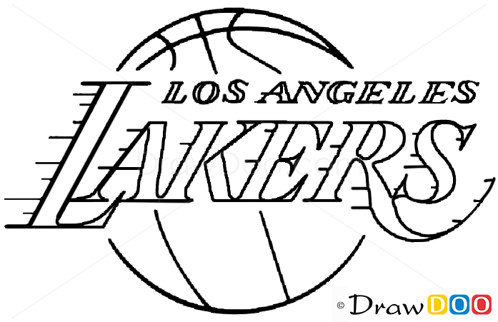 lakers coloring pages los angeles lakers history text background word vector coloring lakers pages