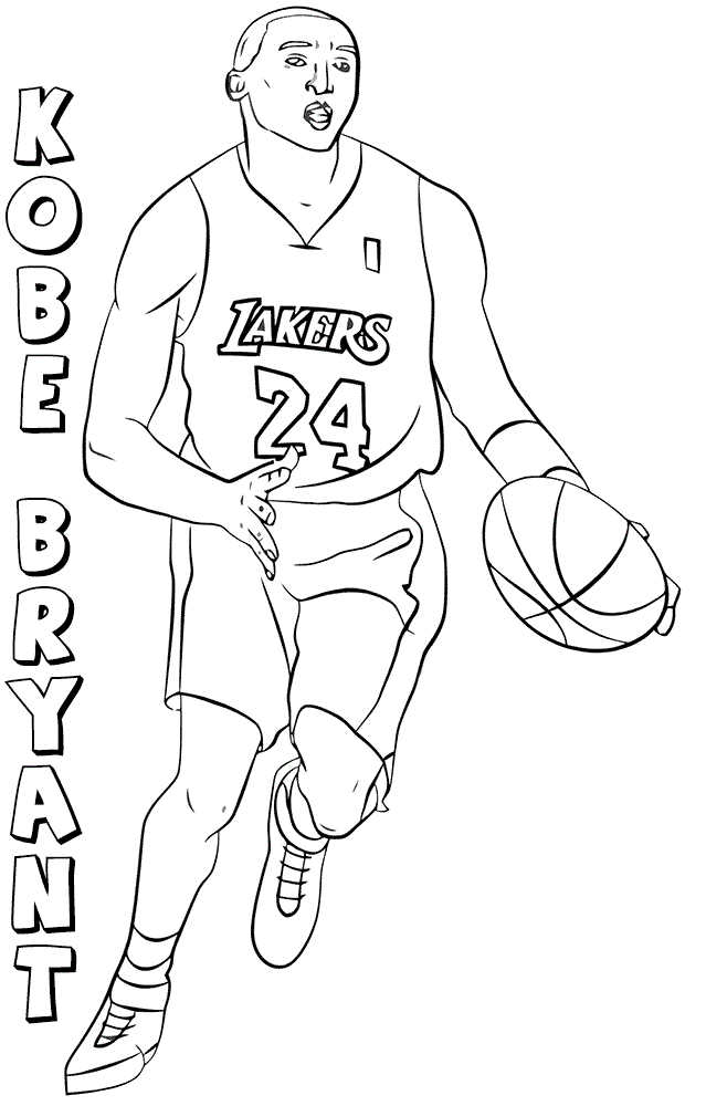 lakers coloring pages printable nba coloring pages lakers coloring pages
