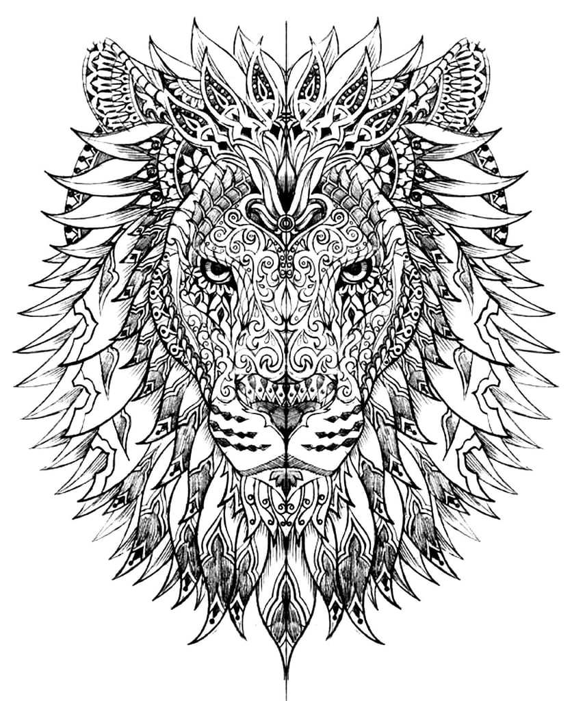 large animal coloring pages animal coloring pages for adults coloring pages printable coloring large animal pages